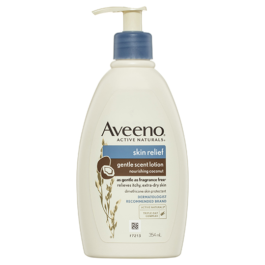 Aveeno Skin Relief Gentle Scent Lotion Nourishing Coconut 354ml